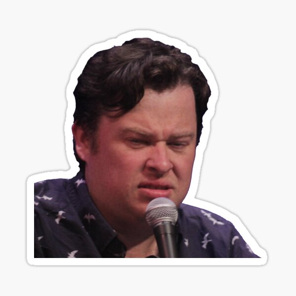 justin is disgusted Sticker