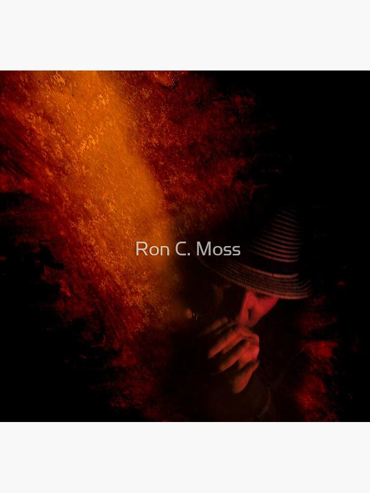 Firey Blues by ronmoss