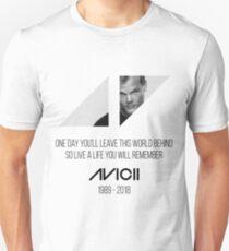 Avicii RIP Unisex T-Shirt