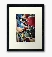 Barista Framed Print