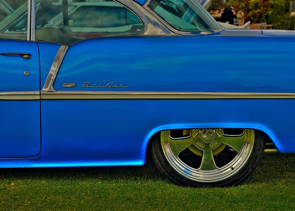 Baby Blue Bel Air by Rod Wilkinson