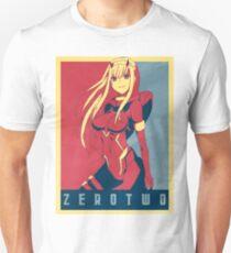 Zero Two - Political | Darling in the Frankk Unisex T-Shirt
