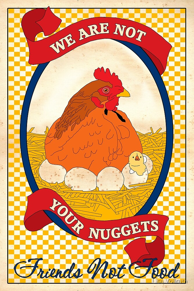 We Are Not Your Nuggets by Lisa Vollrath