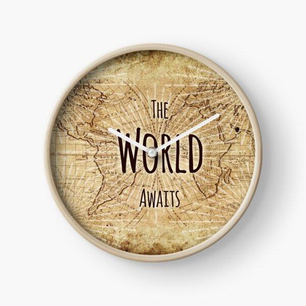 The World Awaits Clock
