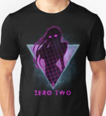 Zero Two - Future 80s Anime | Darling in the Franxx Unisex T-Shirt