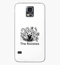 The Rolistes Podcast - Cthulhu Cat (Monochrome) Case/Skin for Samsung Galaxy
