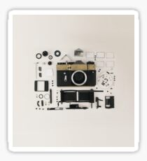 Camera beautiful pic  : for lovers of photography  Sticker