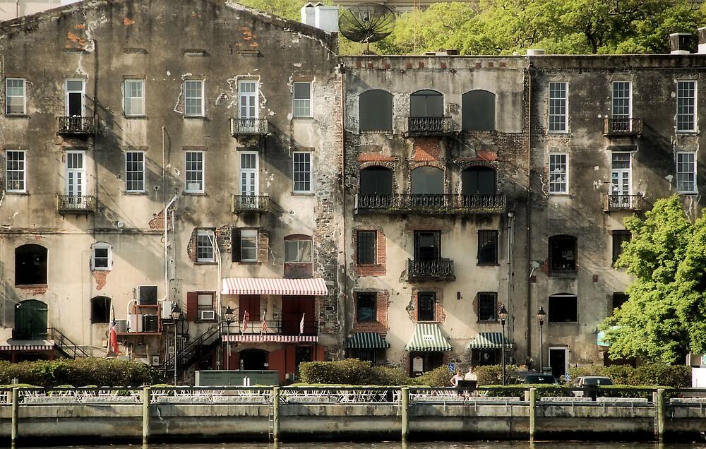 Savannah Riverfront by bvphotography