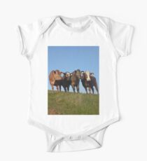 And the Cows in the Meadow go 'Moo!' Kids Clothes