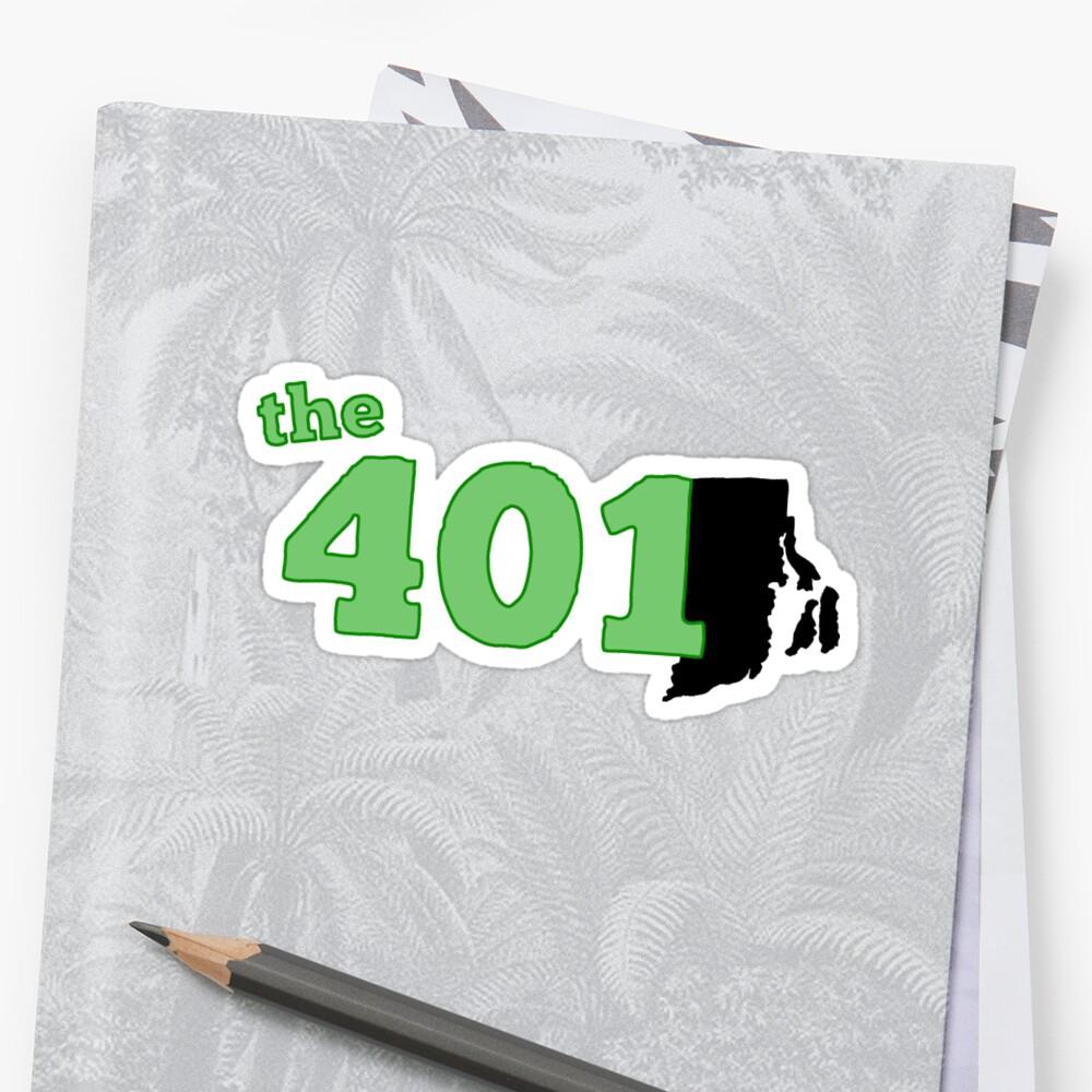the401 (verde) Pegatina