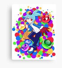 Just pop the rainbow Canvas Print