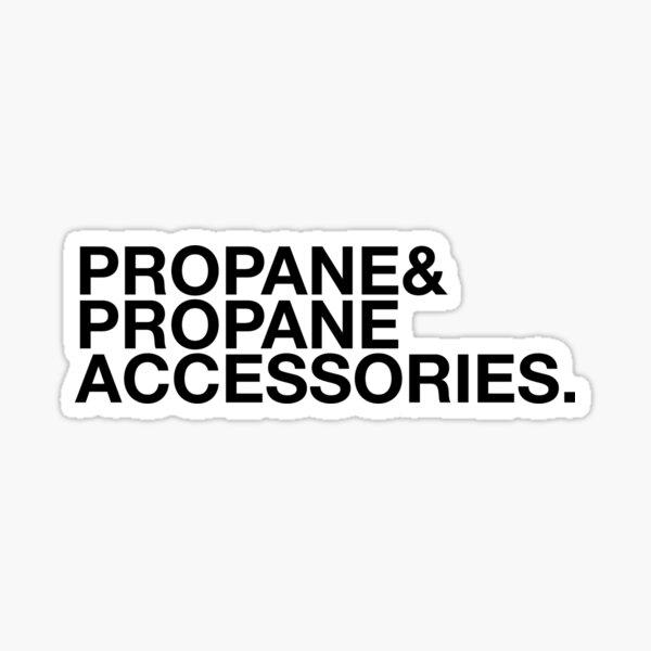 Propane and Propane Accessories Sticker
