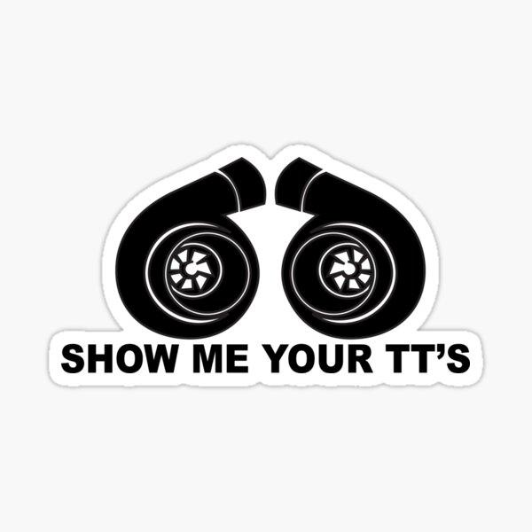 Show me your TT's Sticker