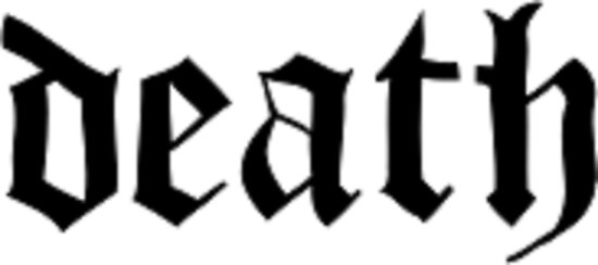 Death Old English Font