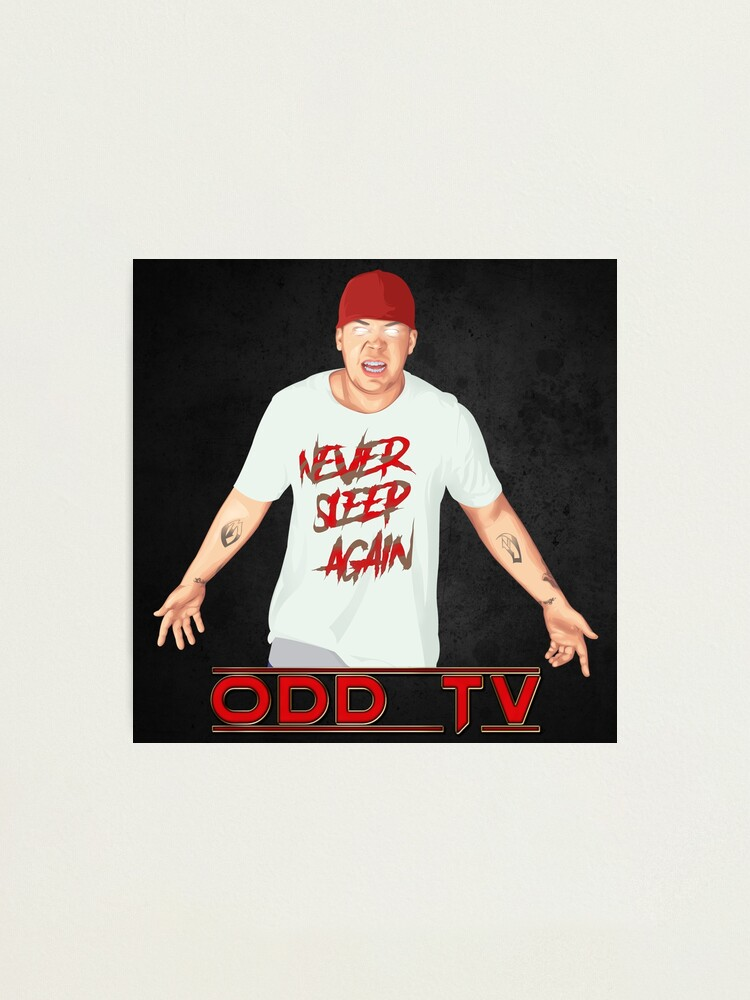 Alternate view of Super ODD TV - Never Sleep Again  Photographic Print