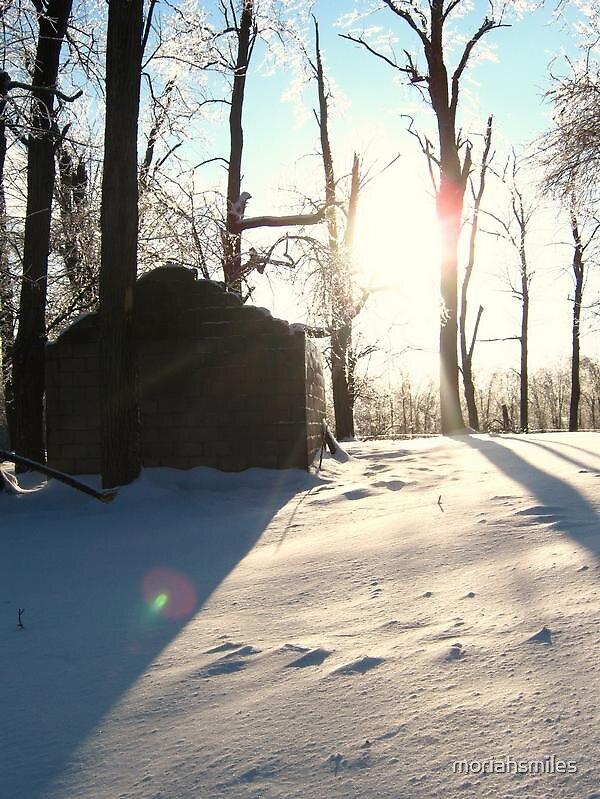 Winter Castle by moriahsmiles