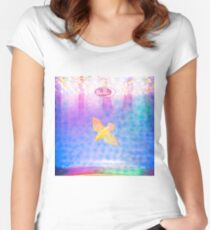 Belly - Dove Women's Fitted Scoop T-Shirt