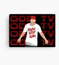 Super ODD TV 2 Canvas Print