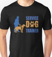 Service Dog Trainer Unisex T-Shirt