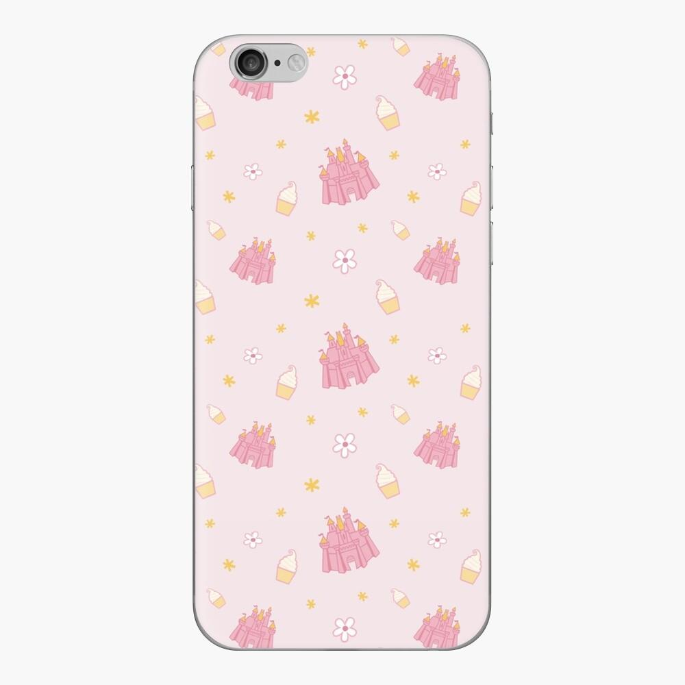 Rosa Parkmuster iPhone Klebefolie