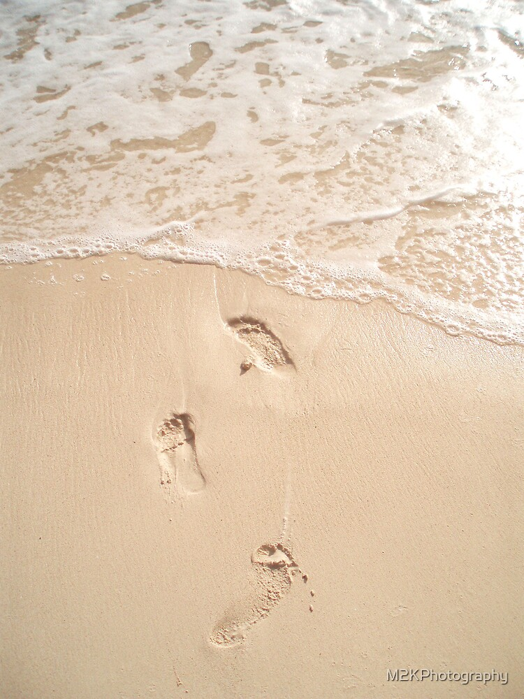 Foot Prints by M2KPhotography
