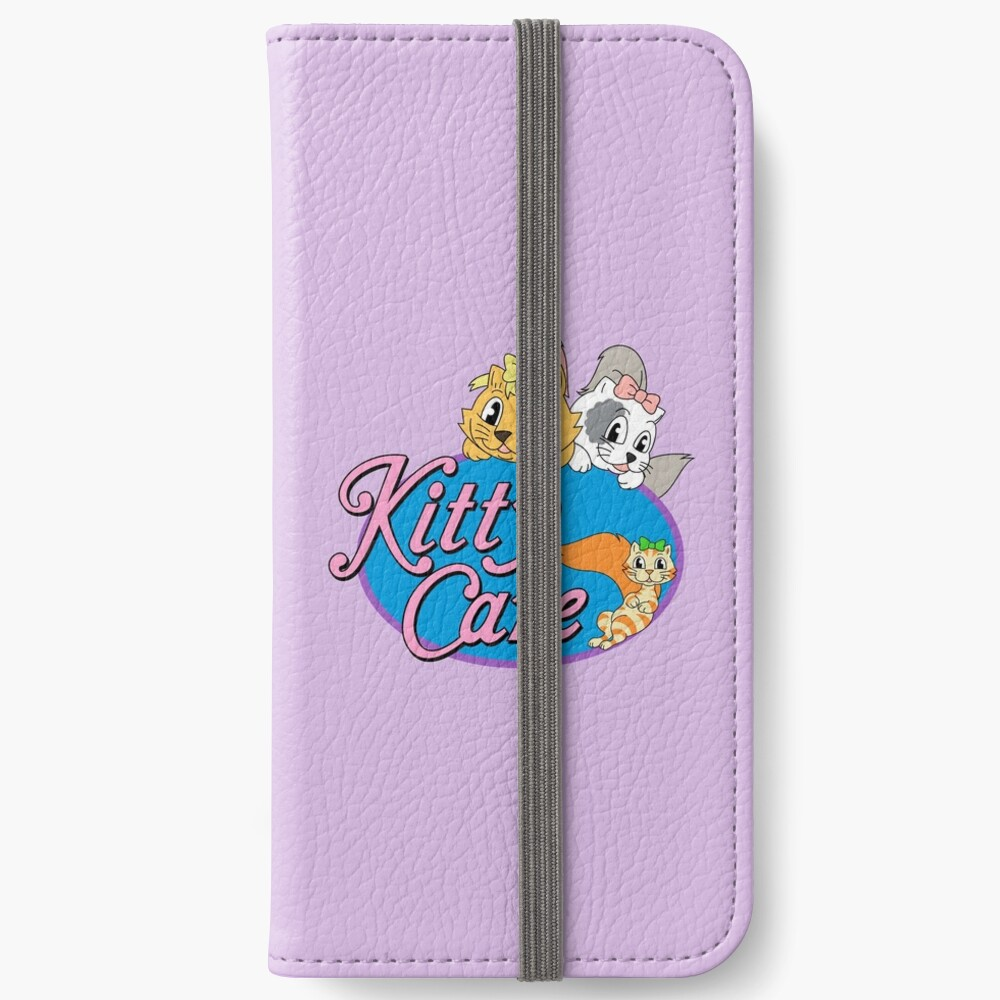 Kitty Care logo iPhone Wallet