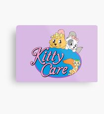 Kitty Care logo Metal Print