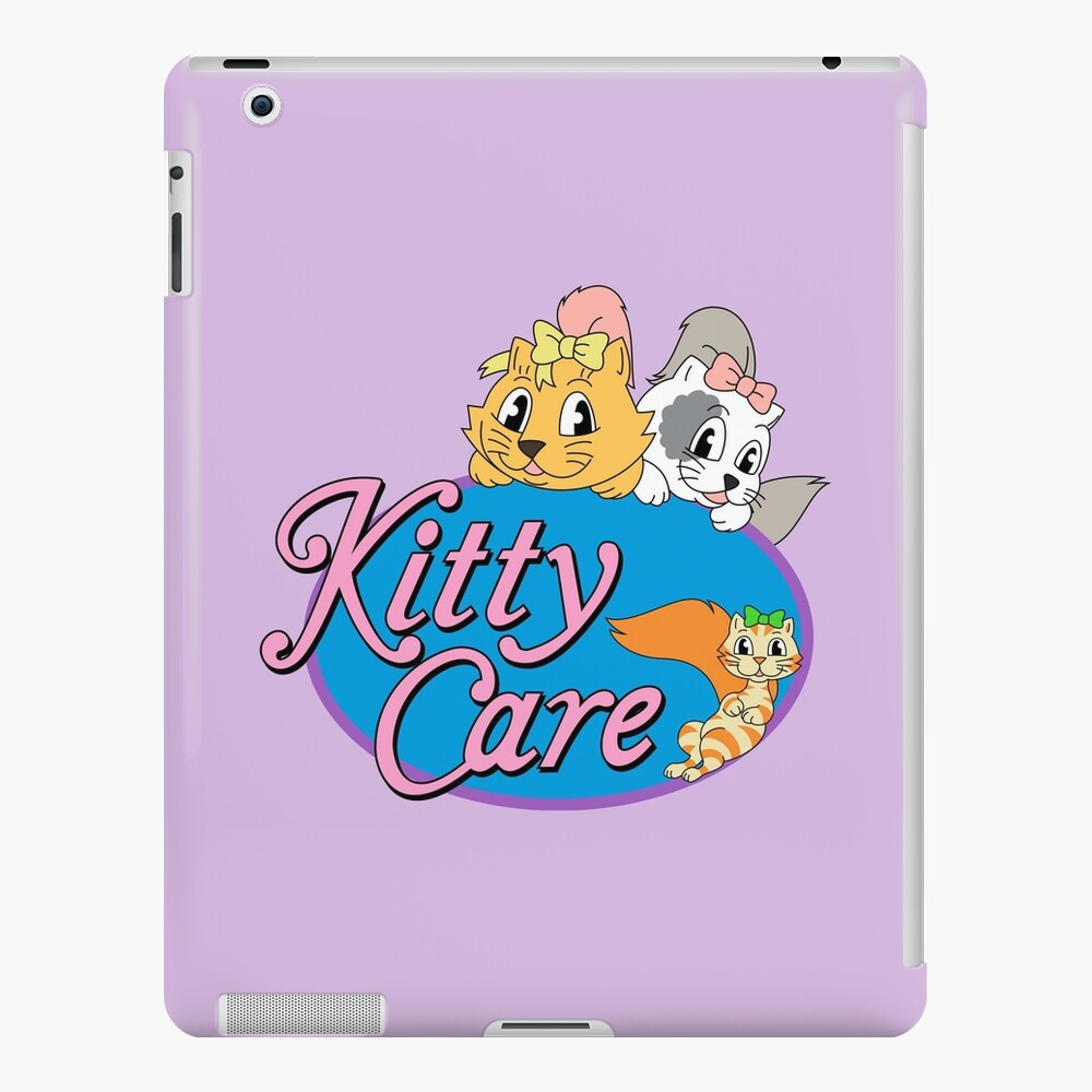Kitty Care logo iPad Case & Skin