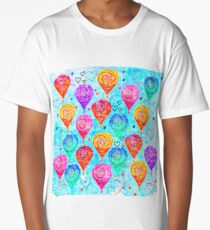 Balloon Pattern 1 Long T-Shirt