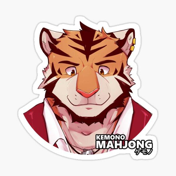 Khan the Tiger Sticker