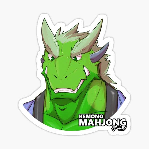 Haruto the Dragon Sticker