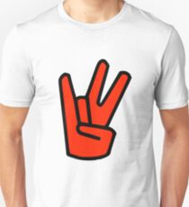 2 in the Pink 1 in the Stink Hand Signal Unisex T-Shirt