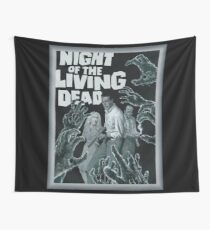 Night Of The Living Dead Wall Tapestry