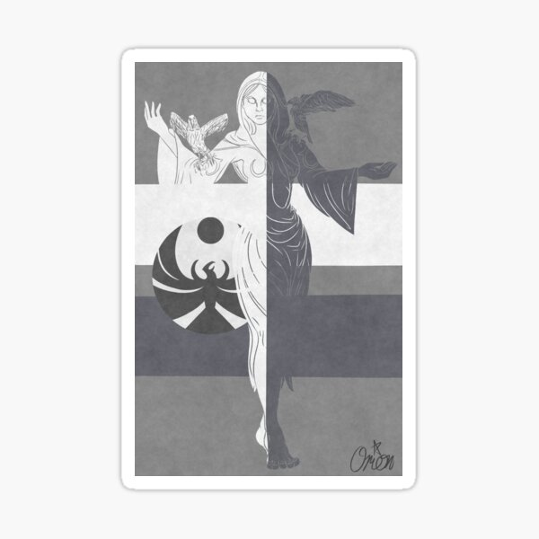 Nocturnal Daedric Prince Design Sticker