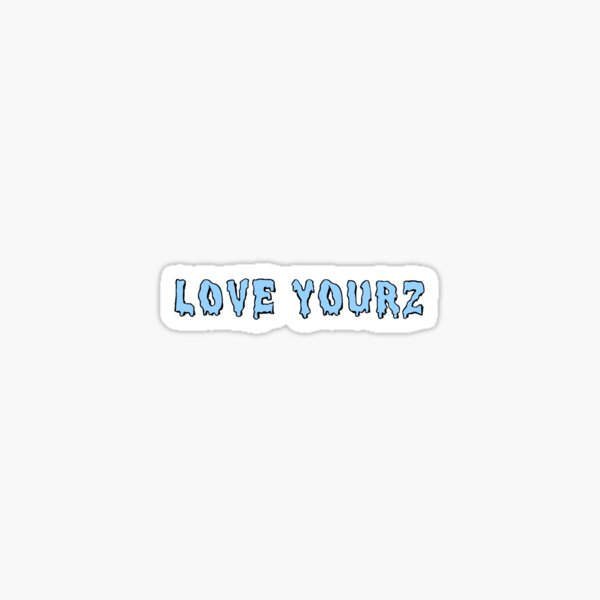 Love Yourz sticker Sticker