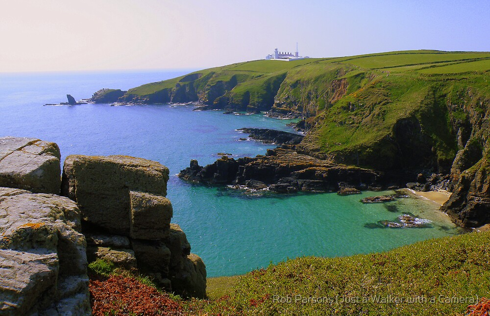 Cornwall: Looking Back to the Lizard by Robert Parsons