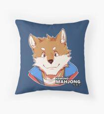 Osamu the Shiba Inu Throw Pillow