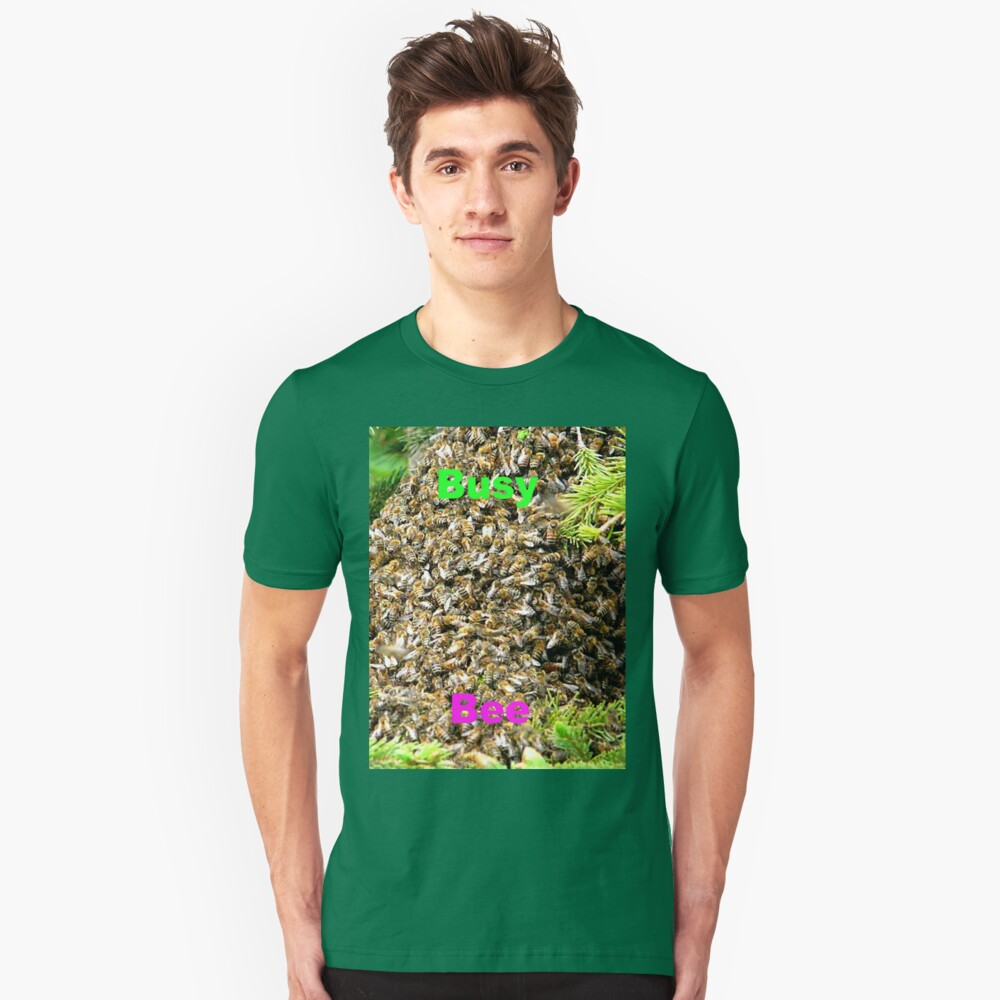 Busy Bee,Tee Unisex T-Shirt Front