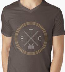 Exodus Seal  - White Lettering Men's V-Neck T-Shirt