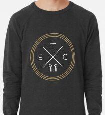 Exodus Seal  - White Lettering Lightweight Sweatshirt
