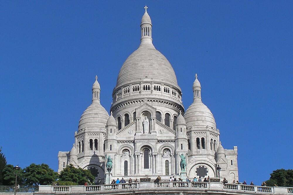 The Basilique du Sacré-Cœur by Steve Rhodes