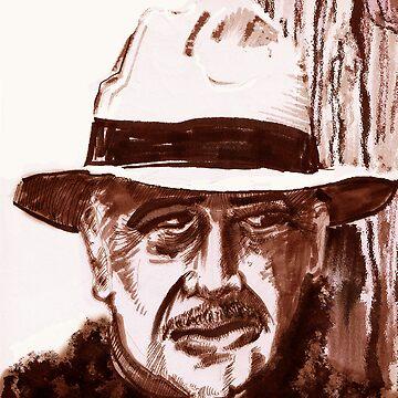 Sir Sean Connery by sethweaver