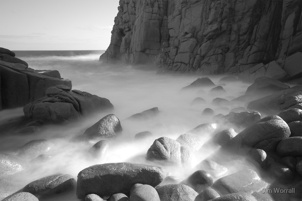 Prehistoric Sunshine - Pinnacles Phillip Island by Jim Worrall