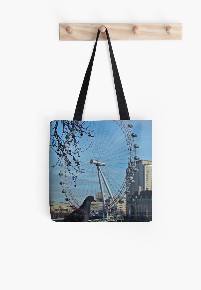 London Eye by Al Bourassa