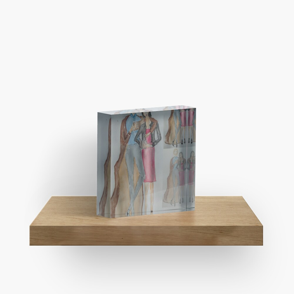 Friends Who Read Together Have More Fun! Acrylic Block