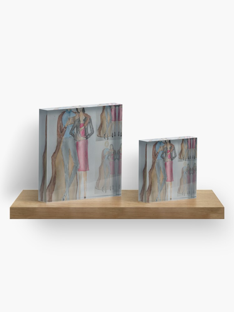 Alternate view of Friends Who Read Together Have More Fun! Acrylic Block
