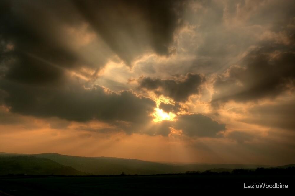 Sky over Derbyshire by LazloWoodbine