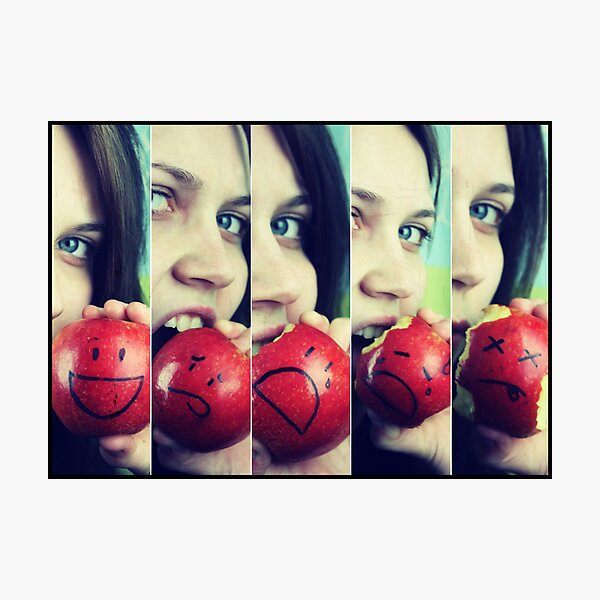 If Apples had Feelings.... Photographic Print