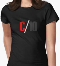 C 10 Women's Fitted T-Shirt