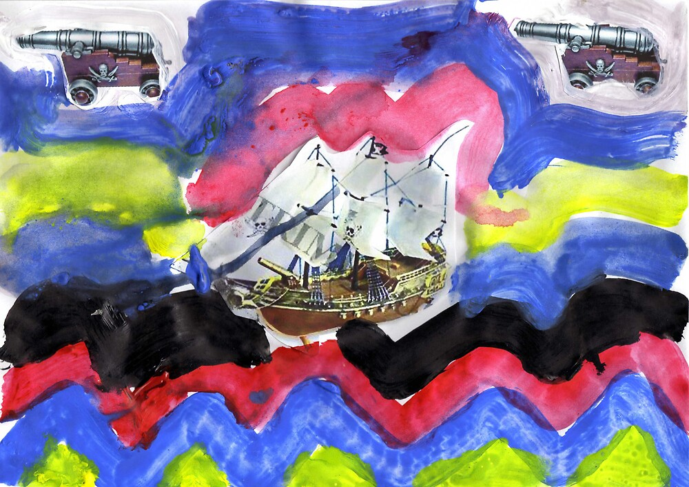 Pirate Boat by Emile